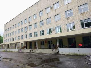 главное здание больница поликлиника города радужный